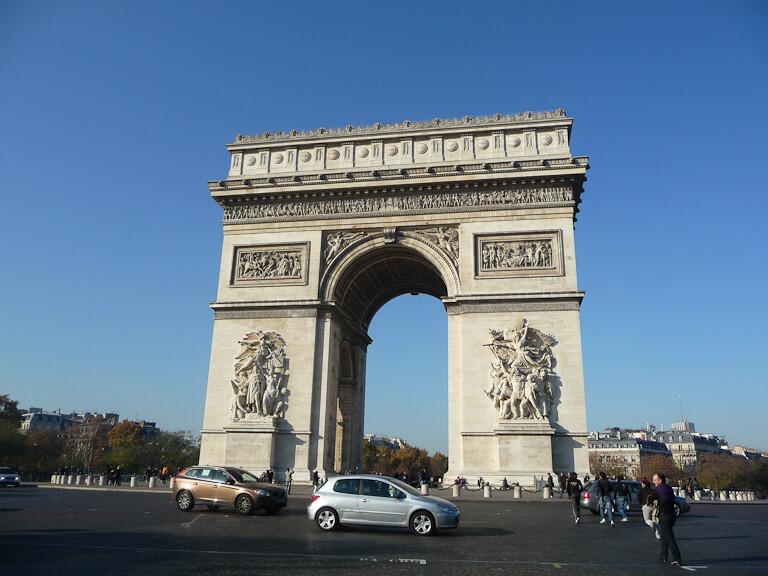 Arc de Triomphe, place de l'Étoile, Paris 8e (75)