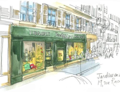 Fermeture de la librairie galerie Jardins en Art (Paris 6e)