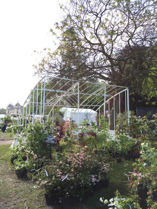 Serres et Ferrroneries d'Antan, Journées des Plantes, Domaine de Chantilly, Chantilly (60)