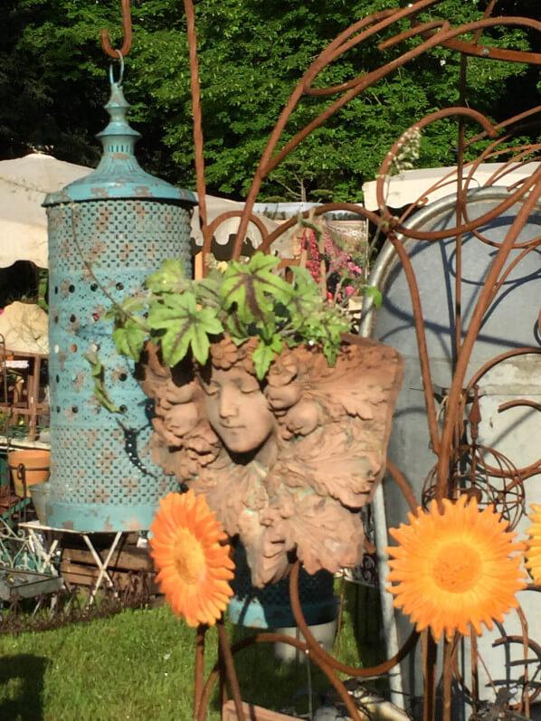 La Brocante Anglaise, Journées des Plantes, Domaine de Chantilly, Chantilly (60)