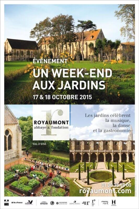 Un week-end aux jardins, abbaye de Royaumont (95), octobre 2015