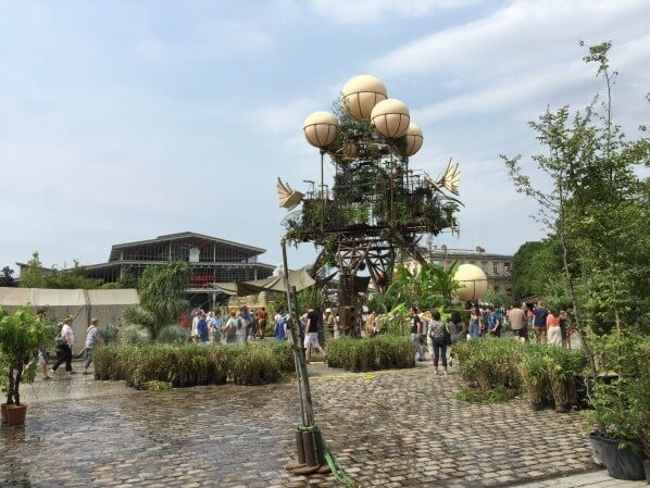 L'Aéroflorale II, L'Expédition Végétale, Compagnie La Machine, parc de la Villette, Paris 19e (75), 5 juillet 2015, photo Alain Delavie