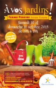 À vos jardins, Ozoir-la-Ferrière (77), octobre 2015