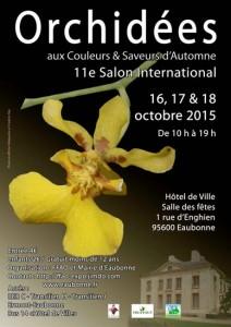 11e Salon International Orchidées, Eaubonne (95), octobre 2015