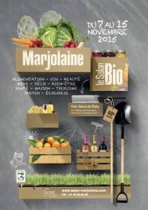 Salon Marjolaine, Paris (75), novembre 2015