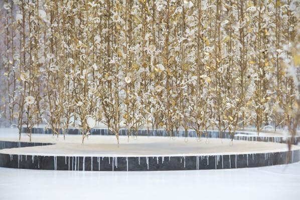 Hanging Garden Jardin Suspendu, Kris Ruhs, galerie Azzedine Alaia, Paris, 2015