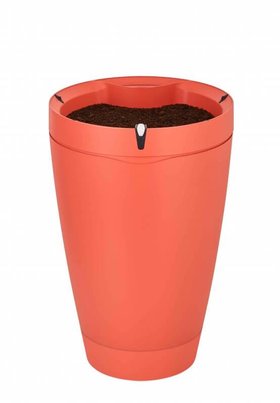 Parrot Pot, couleur brique (rouge)