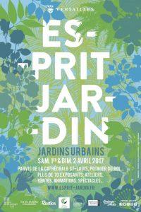 Affiche Esprit Jardin, Versailles (78), avril 2017
