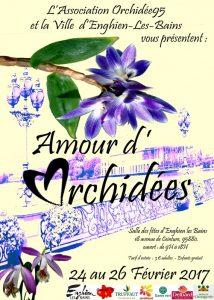 Exposition Amour d'Orchidées, Enghein-les-Bains (95), février 2017