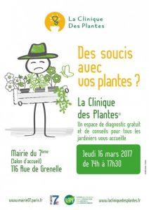 La Clinique des Plantes, Mairie du 7e, Paris (75), mars 2017