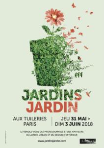 Affiche Jardins Jardin aux Tuileries, Paris (75), mai et juin 2018
