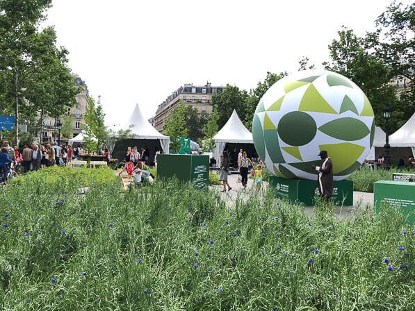BiodiversiTerre, place de la République, Paris (75)