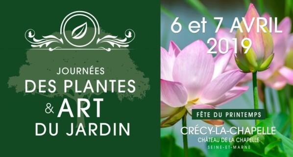 Fête des Plantes et Art du Jardin, Crécy-la-Chapelle (77), avril 2019