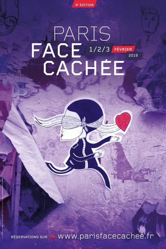 Affiche de Paris face cachée 2019