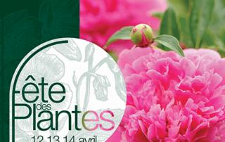 Affiche de la Fête des Plantes Printemps, Domaine de Saint-Jean de Beauregard (91), avril 2019
