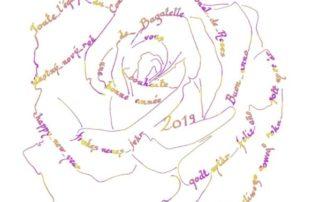 Carte de voeux 2019 de l'équipe du Concours International de Roses de Bagatelle, Paris