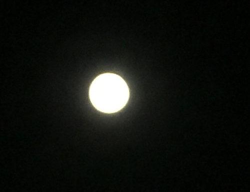 Super pleine lune dans la nuit du 7 au 8 avril 2020