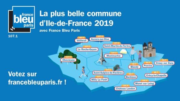 Vote pour la plus belle commune d'Île-de-France, France Bleu Paris, janvier 2019