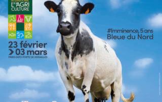 Affiche du Salon International de l'Agriculture 2019 – L'agriculture : des femmes, des hommes, des talents !