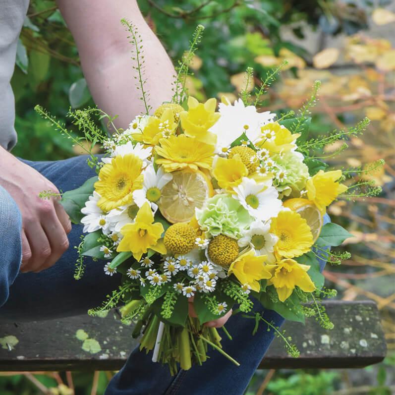 Bouquet Gladys, Le Jardin des Fleurs, mars 2019