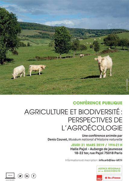 """Conférence publique ARB îdF : """"Agriculture et biodiversité - perspectives de l'agroécologie"""""""