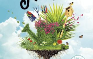 Affiche du Printemps des Jardiniers, Savigny-le-Temple (77), mars 2019