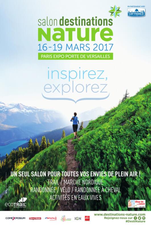 Salon Destinations Nature, Paris, mars 2019