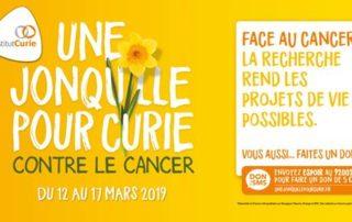 Opération Une jonquille pour Curie contre le Cancer, mars 2019