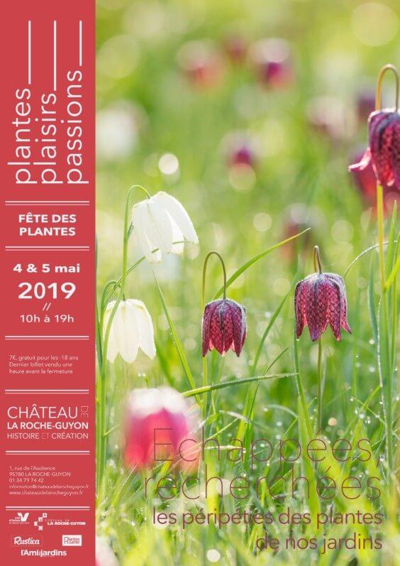 4 et 5 mai 2019, Plantes, Plaisirs, Passions, La Roche-Guyon (95)