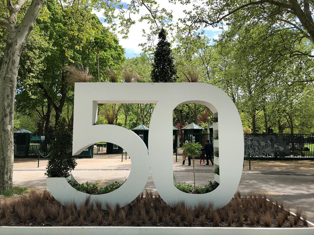 50 ans du Parc Floral de Paris, Paris 12e (75)