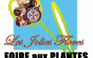 Affiche Les Jolies Flores à Provins les 13 et 14 avril 2019