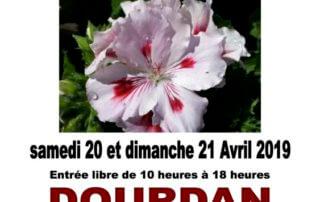 Salon des plantes de Dourdan (91) les 20 et 21 avril 2019