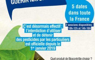 Animations, ateliers sur le biocontrôle, Jardinot, avril 2019