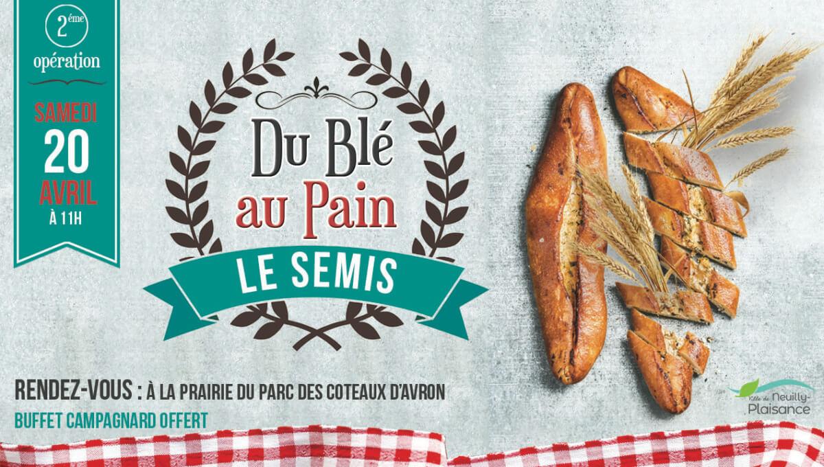Opération « du Blé au Pain » à Neuilly-Plaisance le 20 avril 2019