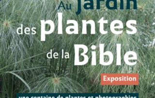 """Exposition """"Au jardin des plantes de la Bible"""" du 25 avril au 7 mai 2019"""