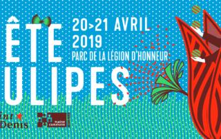 Fête des tulipes, Saint-Denis (93), avril 2019