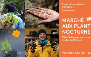 3 mai 2019, Marché aux plantes nocturnes, Paris (75)