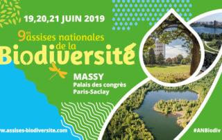 Du 19 au 21 juin 2019, 9èmes Assises nationales de la biodiversité, Massy (91)