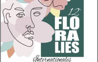 Affiche des Floralies Internationales Nantes 2019