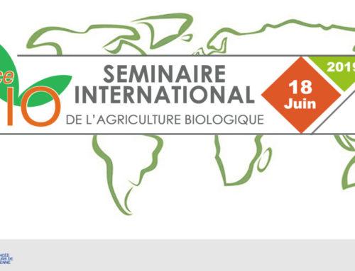 Suivre en direct le Séminaire international de l'Agriculture Biologique