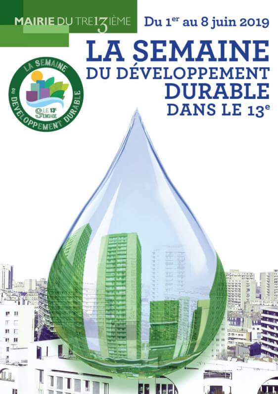 Semaine du Développement Durable dans le 13e, du 1er au 8 juin 2019