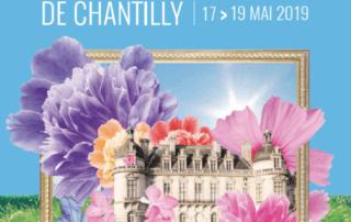 Affiche des Journées des Plantes de Chantilly, mai 2019