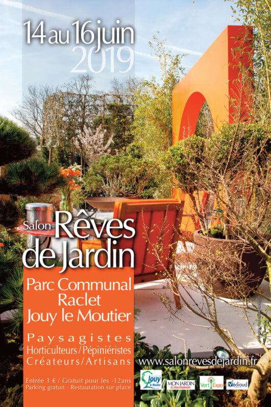 Du 14 au 16 juin 2019, Salon Rêves de Jardin, Jour le Moutier (95)