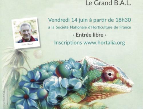 Inscription pour la rencontre et dédicace avec Gilles Clément – Vendredi 14 juin 2019