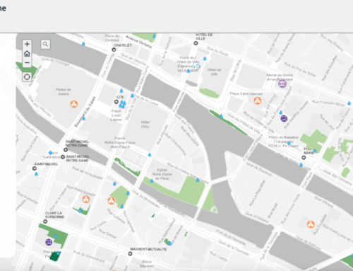Cartographie des ilots de fraîcheur urbaine dans Paris