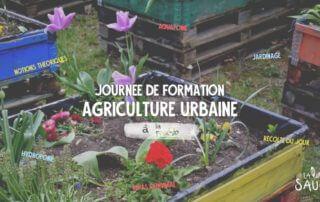 Formation à l'agriculture urbaine le 29 juin 2019 à la Prairie du Canal (Bobigny, 93)