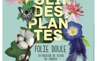 Affiche La Folie des Plantes, Nantes (49), septembre 2019