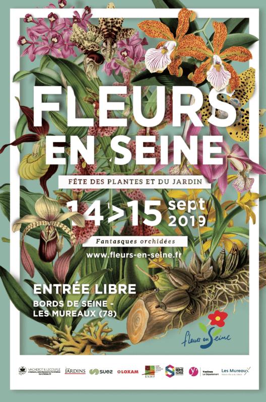 14 et 15 septembre 2019, Fleurs en Seine, Les Mureaux (78)