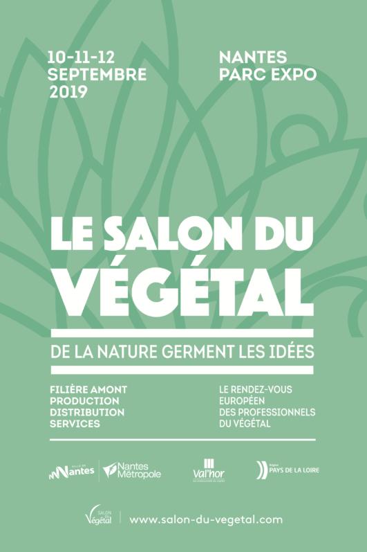Affiche Le Salon du Végétal, Nantes (49), septembre 2019