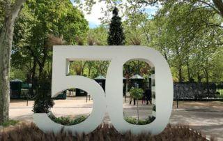 Anniversaire, 50 ans, au printemps dans le Parc Floral de Paris, Paris 12e (75)